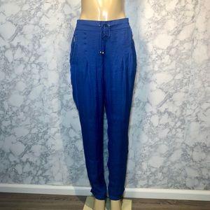 Zara TRF L Cobalt Blue Pant